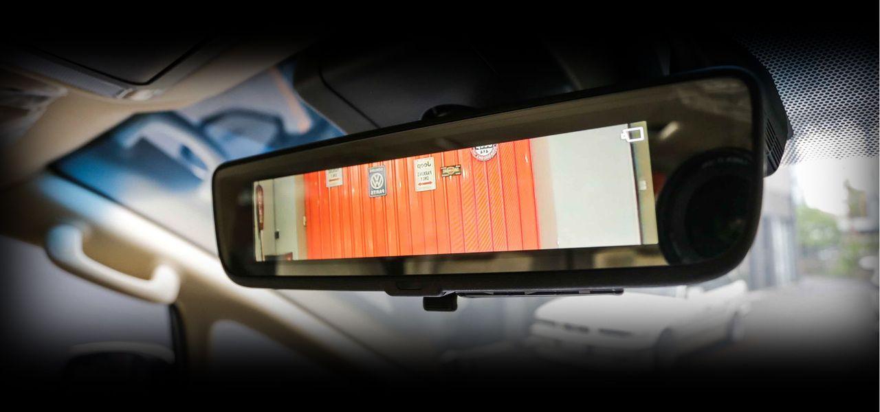 Digital mirror No text